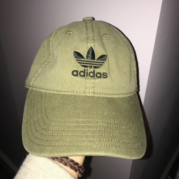 2c99fd2e36479 adidas Accessories - adidas army green hat Urban Outfitters